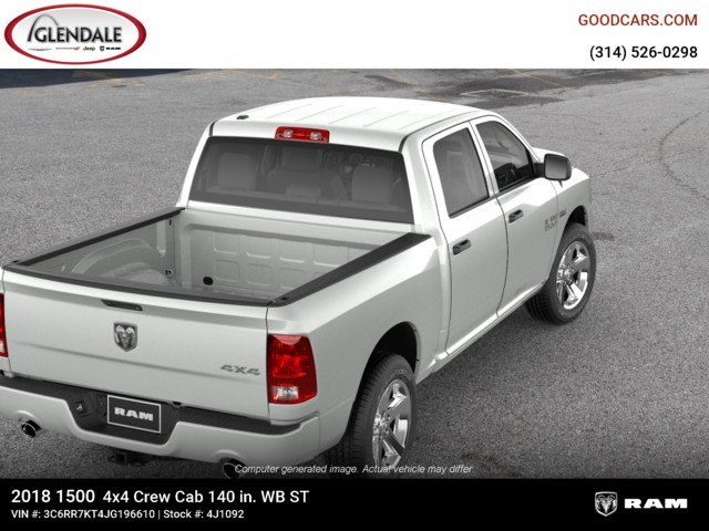 2018 Ram 1500 Crew Cab 4x4,  Pickup #4J1092 - photo 8