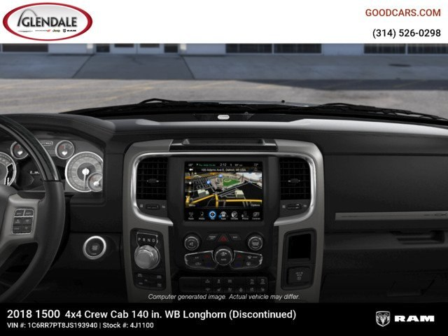 2018 Ram 1500 Crew Cab 4x4,  Pickup #4J1100 - photo 13