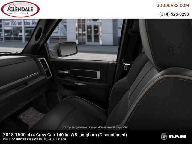 2018 Ram 1500 Crew Cab 4x4,  Pickup #4J1100 - photo 17