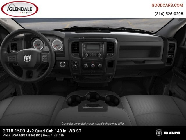 2018 Ram 1500 Quad Cab 4x2,  Pickup #4J1119 - photo 14