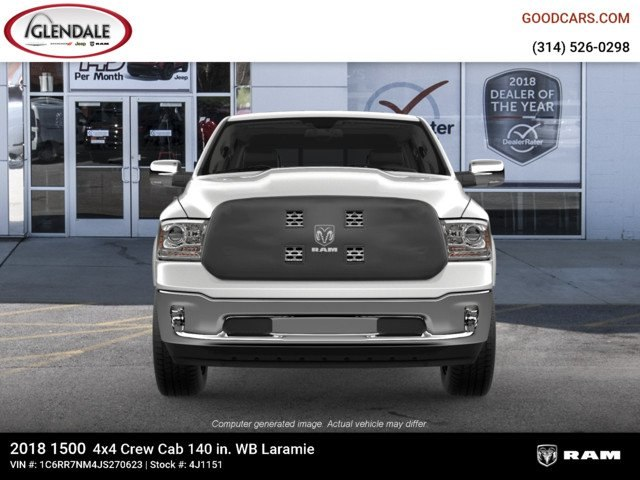 2018 Ram 1500 Crew Cab 4x4,  Pickup #4J1151 - photo 3