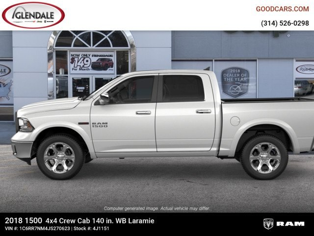 2018 Ram 1500 Crew Cab 4x4,  Pickup #4J1151 - photo 5