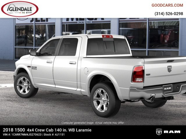 2018 Ram 1500 Crew Cab 4x4,  Pickup #4J1151 - photo 2