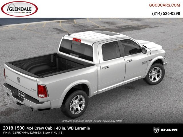 2018 Ram 1500 Crew Cab 4x4,  Pickup #4J1151 - photo 9