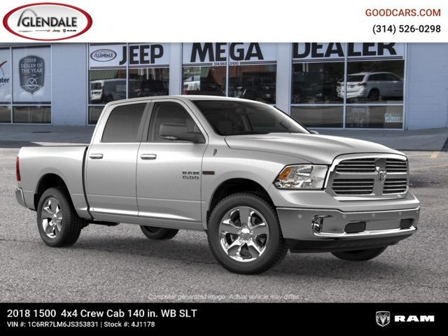 2018 Ram 1500 Crew Cab 4x4,  Pickup #4J1178 - photo 11