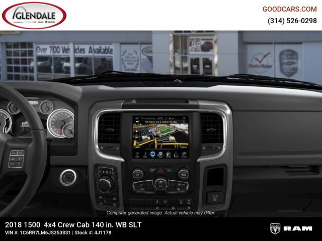 2018 Ram 1500 Crew Cab 4x4,  Pickup #4J1178 - photo 13
