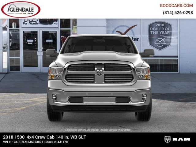 2018 Ram 1500 Crew Cab 4x4,  Pickup #4J1178 - photo 3