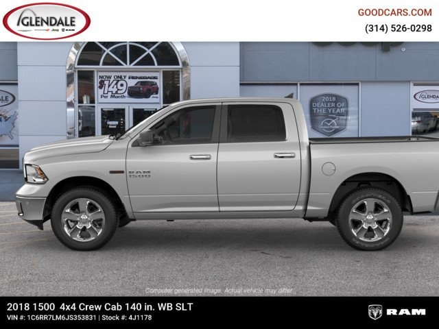 2018 Ram 1500 Crew Cab 4x4,  Pickup #4J1178 - photo 5