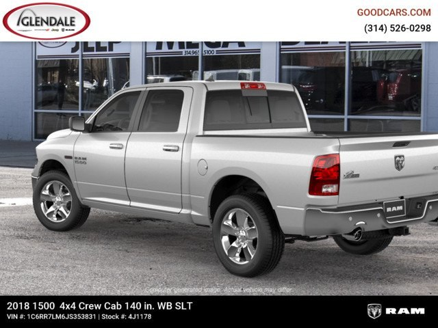 2018 Ram 1500 Crew Cab 4x4,  Pickup #4J1178 - photo 2