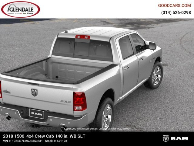 2018 Ram 1500 Crew Cab 4x4,  Pickup #4J1178 - photo 8