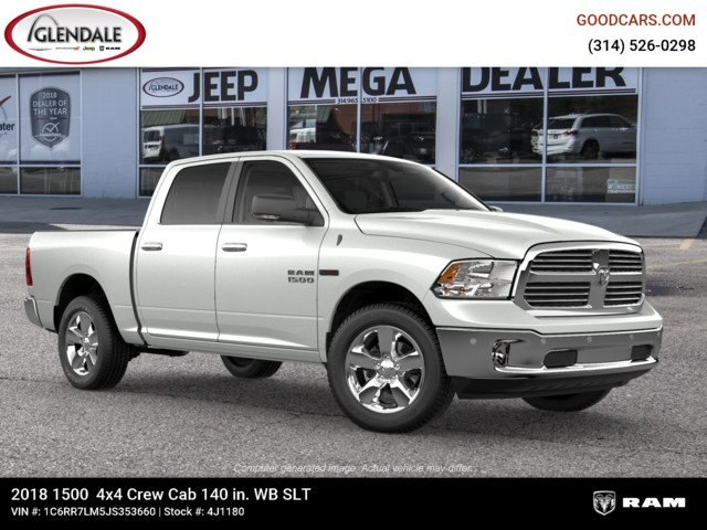 2018 Ram 1500 Crew Cab 4x4,  Pickup #4J1180 - photo 11