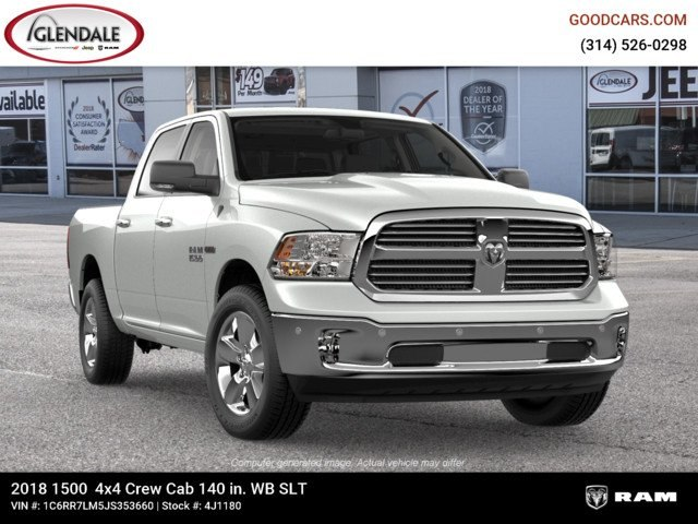 2018 Ram 1500 Crew Cab 4x4,  Pickup #4J1180 - photo 12