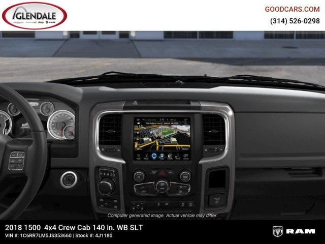 2018 Ram 1500 Crew Cab 4x4,  Pickup #4J1180 - photo 13