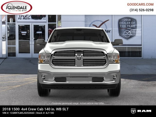 2018 Ram 1500 Crew Cab 4x4,  Pickup #4J1180 - photo 3