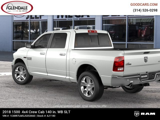 2018 Ram 1500 Crew Cab 4x4,  Pickup #4J1180 - photo 2