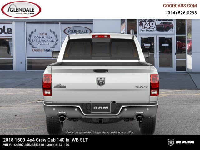 2018 Ram 1500 Crew Cab 4x4,  Pickup #4J1180 - photo 7