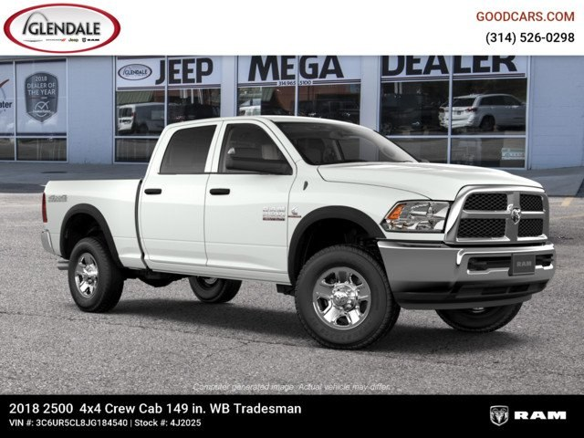 2018 Ram 2500 Crew Cab 4x4,  Pickup #4J2025 - photo 11