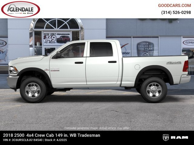 2018 Ram 2500 Crew Cab 4x4,  Pickup #4J2025 - photo 5