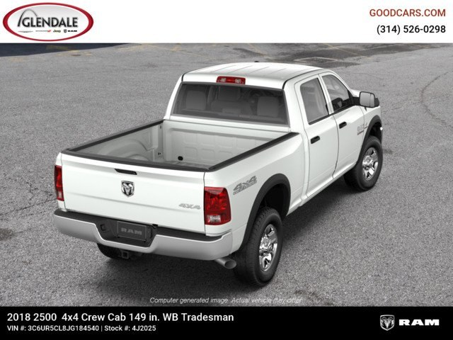 2018 Ram 2500 Crew Cab 4x4,  Pickup #4J2025 - photo 8