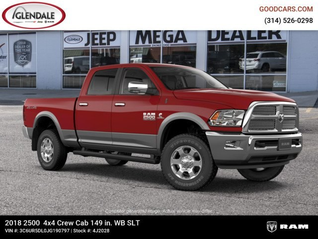2018 Ram 2500 Crew Cab 4x4,  Pickup #4J2028 - photo 11