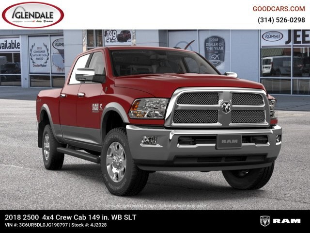 2018 Ram 2500 Crew Cab 4x4,  Pickup #4J2028 - photo 12