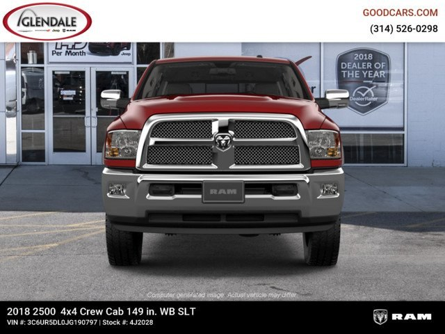 2018 Ram 2500 Crew Cab 4x4,  Pickup #4J2028 - photo 3