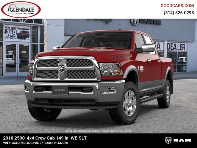 2018 Ram 2500 Crew Cab 4x4,  Pickup #4J2028 - photo 4