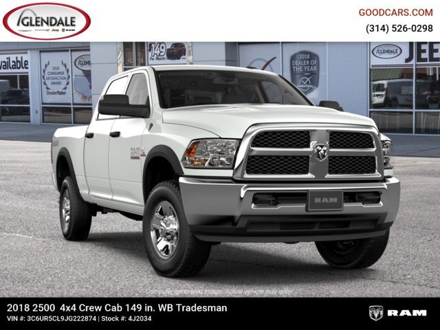 2018 Ram 2500 Crew Cab 4x4,  Pickup #4J2034 - photo 12