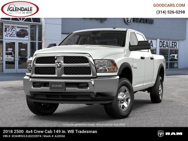 2018 Ram 2500 Crew Cab 4x4,  Pickup #4J2034 - photo 4