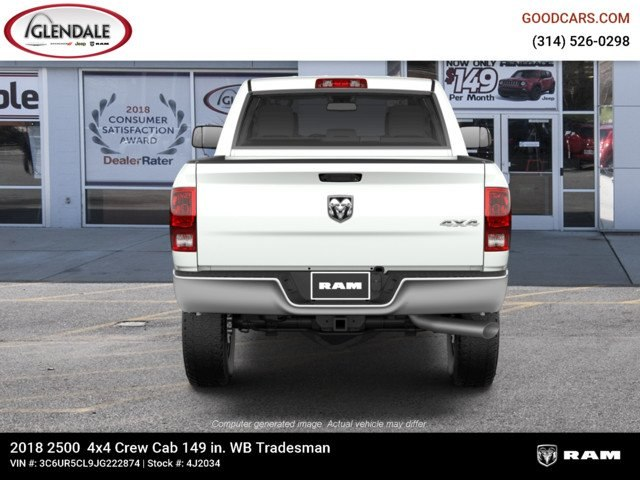 2018 Ram 2500 Crew Cab 4x4,  Pickup #4J2034 - photo 7