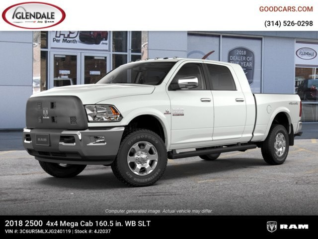 2018 Ram 2500 Mega Cab 4x4,  Pickup #4J2037 - photo 1