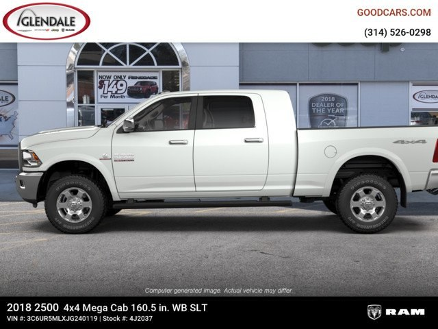 2018 Ram 2500 Mega Cab 4x4,  Pickup #4J2037 - photo 5