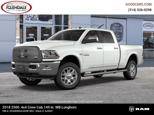 2018 Ram 2500 Crew Cab 4x4,  Pickup #4J2041 - photo 1
