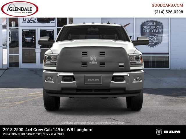 2018 Ram 2500 Crew Cab 4x4,  Pickup #4J2041 - photo 3
