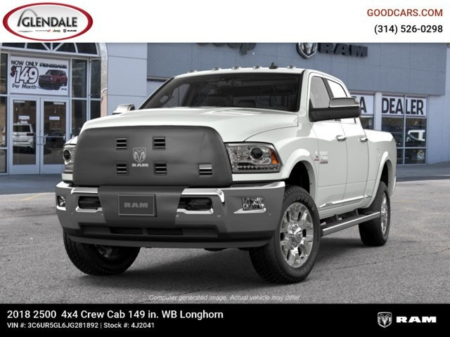 2018 Ram 2500 Crew Cab 4x4,  Pickup #4J2041 - photo 4