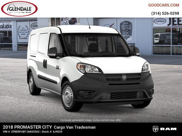 2018 ProMaster City FWD,  Empty Cargo Van #4J9029 - photo 9