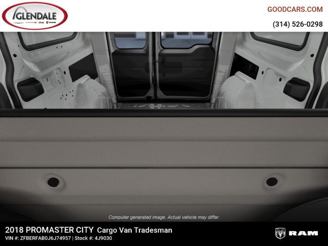 2018 ProMaster City FWD,  Empty Cargo Van #4J9030 - photo 2