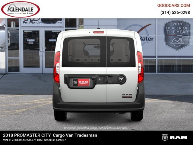 2018 ProMaster City FWD,  Empty Cargo Van #4J9037 - photo 6