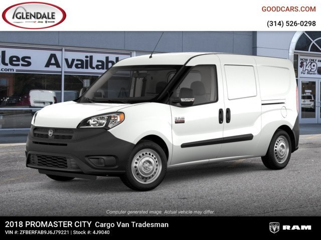 2018 ProMaster City FWD,  Empty Cargo Van #4J9040 - photo 1