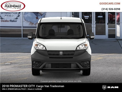 2018 ProMaster City FWD,  Empty Cargo Van #4J9040 - photo 3