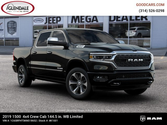 2019 Ram 1500 Crew Cab 4x4,  Pickup #4K1001 - photo 11