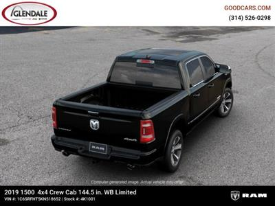 2019 Ram 1500 Crew Cab 4x4,  Pickup #4K1001 - photo 8
