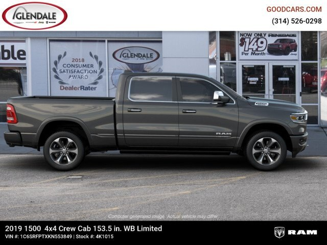 2019 Ram 1500 Crew Cab 4x4,  Pickup #4K1015 - photo 10