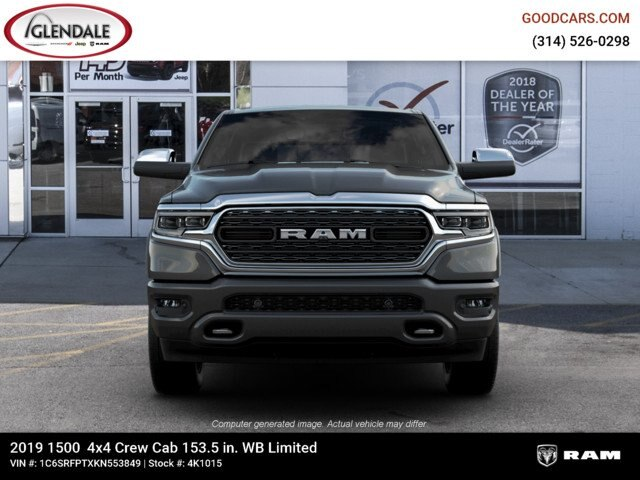 2019 Ram 1500 Crew Cab 4x4,  Pickup #4K1015 - photo 3