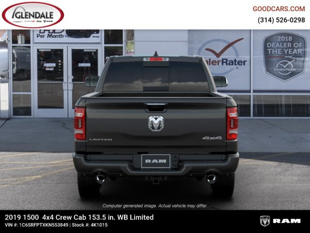 2019 Ram 1500 Crew Cab 4x4,  Pickup #4K1015 - photo 7