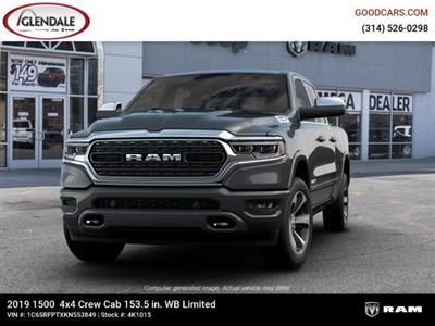 2019 Ram 1500 Crew Cab 4x4,  Pickup #4K1015 - photo 4