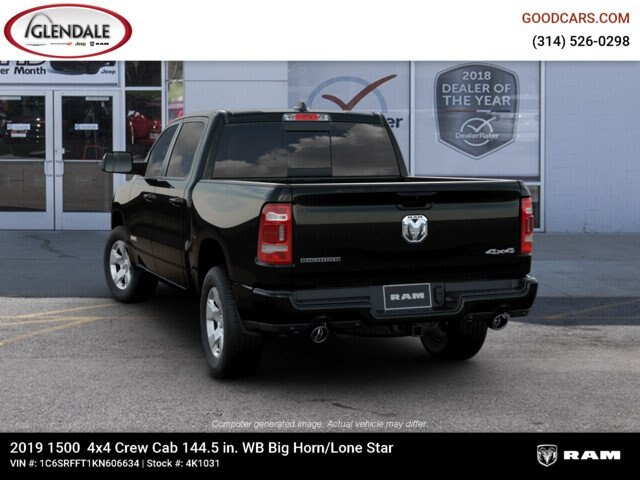 2019 Ram 1500 Crew Cab 4x4,  Pickup #4K1031 - photo 6