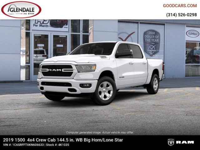 2019 Ram 1500 Crew Cab 4x4,  Pickup #4K1035 - photo 1