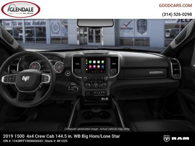 2019 Ram 1500 Crew Cab 4x4,  Pickup #4K1035 - photo 17