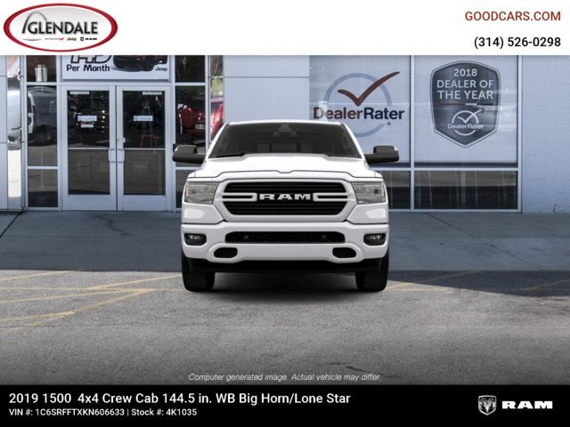 2019 Ram 1500 Crew Cab 4x4,  Pickup #4K1035 - photo 3